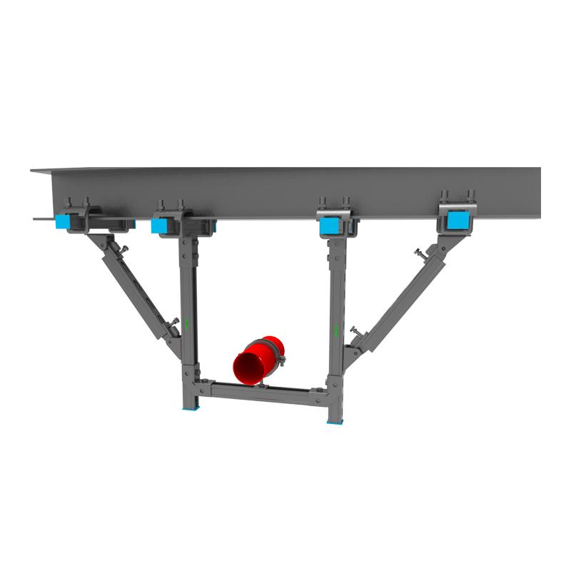 钢结构管道抗震支吊架