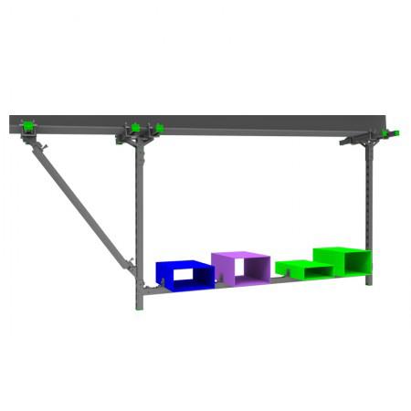 钢结构可调式抗震支吊架