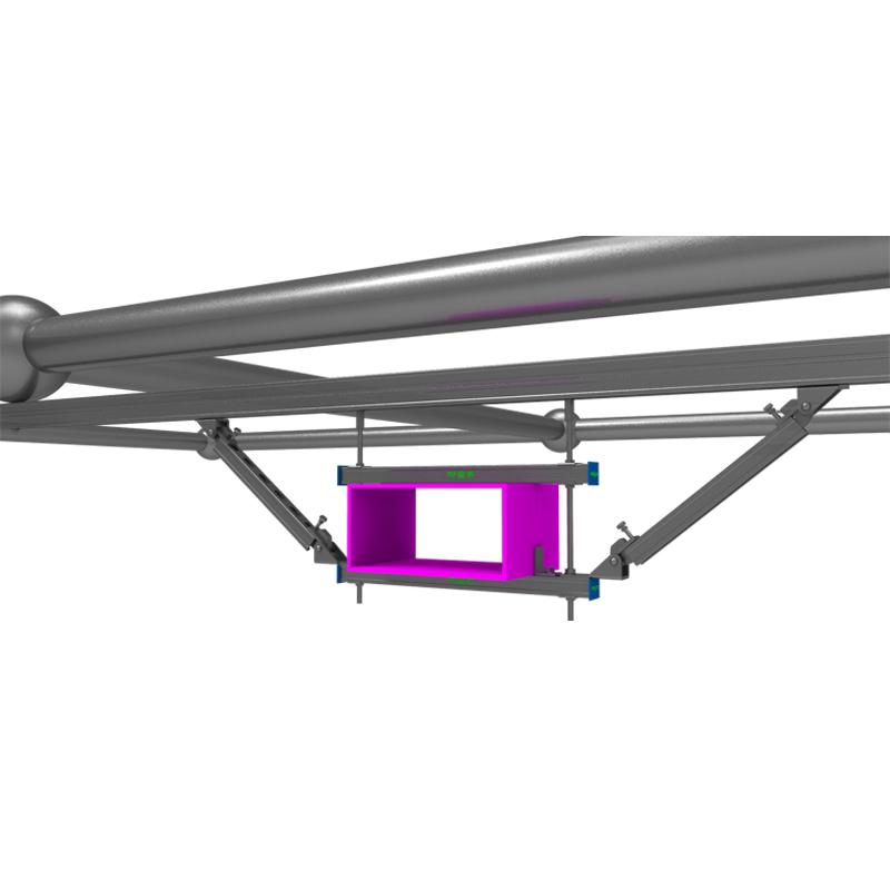 网架结构风管抗震支吊架