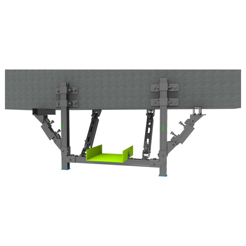 双向-梁侧桥架抗震支吊架