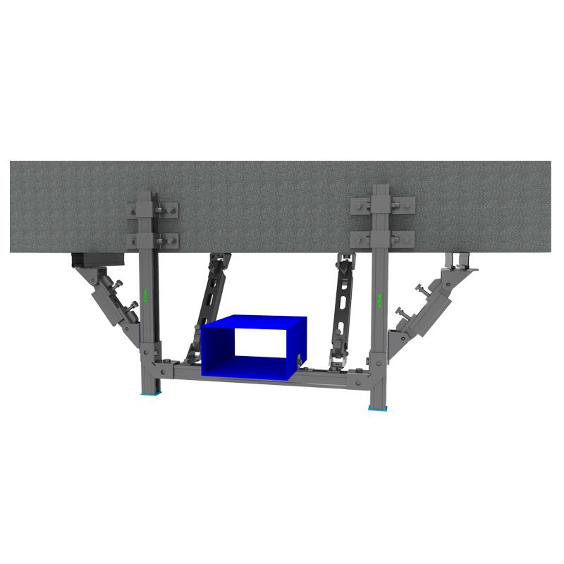 双向-梁侧风管抗震支吊架